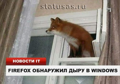 Дыра в windows